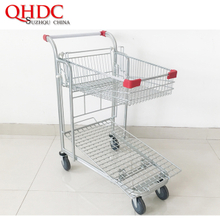 Supermarket Cart Shopping Cargo Trolleys JHD-CA