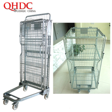 foldable cart transport trolley cage JHD-acage