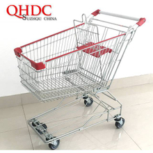 asia supermarket shopping trolley cart 125L