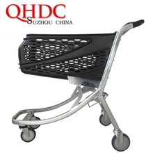 plastic trolley supermarket shopping carts 100 liter JHD-png100