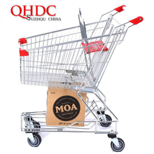 asia supermarket shopping trolley cart 80L