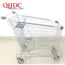 asia supermarket shopping trolley cart 240L